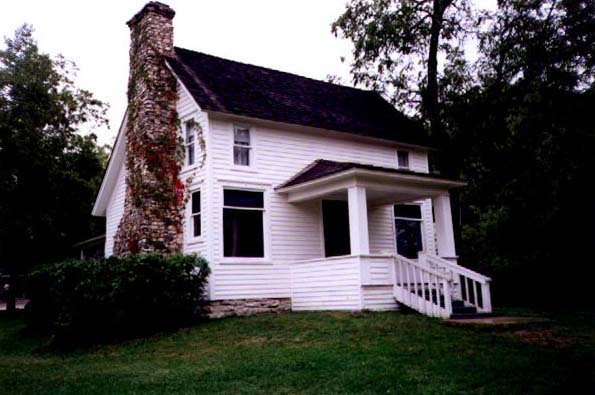 Laura and Almanzo's home, Rocky Ridge Farm