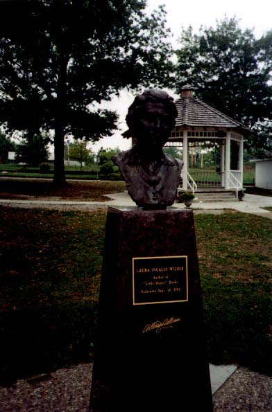 Laura Ingalls Wilder monument