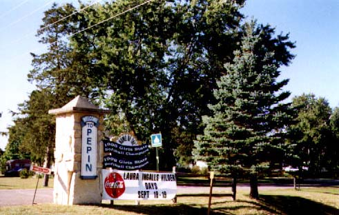 Entrance to Pepin, Wisconsin